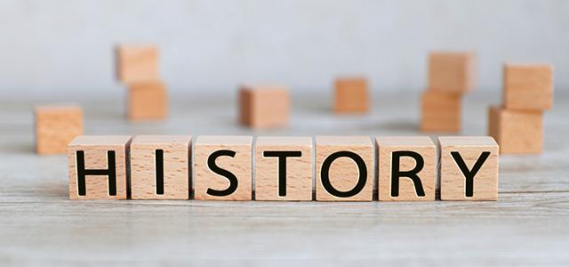 ILCのHistoryイメージ